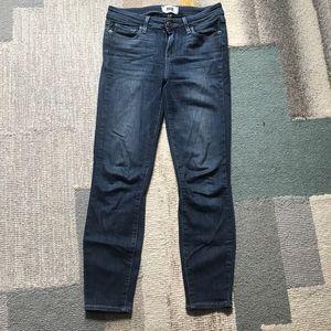 Anthropologie Paige Verdugo Crop Jeans